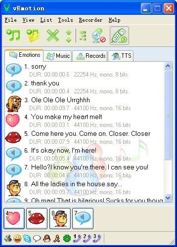 Voice Emotion 1.1.0.36 screenshot