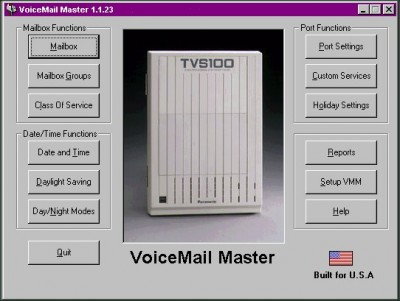 VoiceMail Master for TVS200 1.05 screenshot