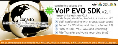 VoIP DLL, OCX/ActiveX, COM, C-interface and .NET f 2.1 screenshot