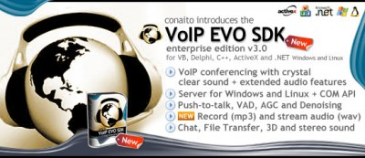 VoIP EVO SDK for Windows and Linux 3.0 screenshot