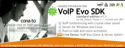 VoIP SDK with DLL, OCX/ActiveX, COM, C-interface a 1.1 screenshot