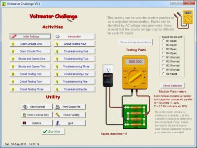 Voltmeter Challenge 5.1 screenshot