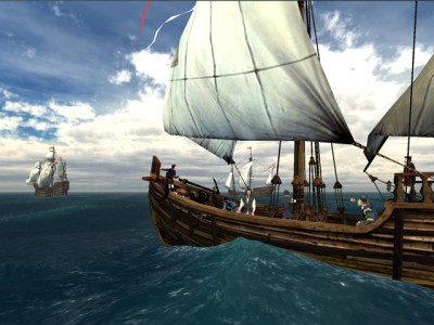 Voyage of Columbus 3D Screensaver 1.2 screenshot