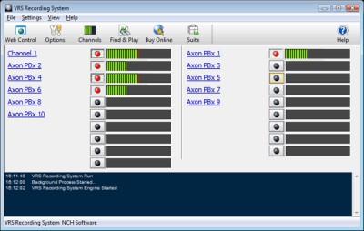 VRS Telephone Call Recorder 5.48 screenshot