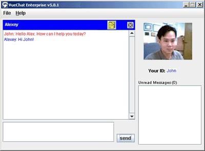 VueChat Customer Service 1.5 screenshot