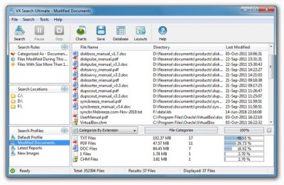 VX Search Ultimate 11.8.12 screenshot