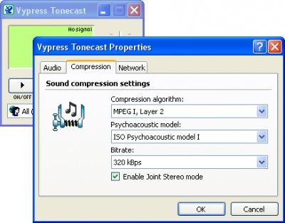 Vypress Tonecast 1.3 screenshot
