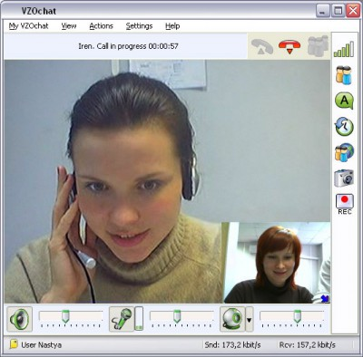 VZOchat 5.4.1 screenshot