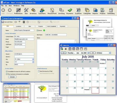 w/Ease Small Business Software 1.5 screenshot