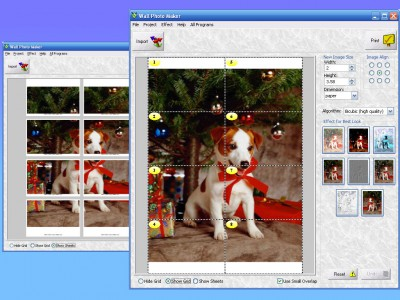 Wall Photo Maker 4.6 screenshot