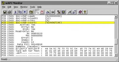 wAPI Monitor 2000 3.3 screenshot