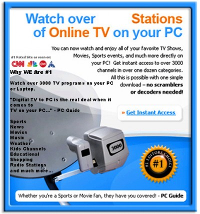 Watch TV Channels on PC and Laptop 2011.00216 screenshot