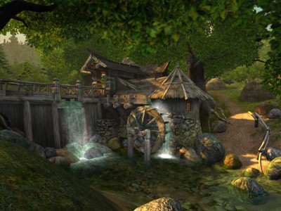 Watermill 3D Screensaver 2.2 screenshot