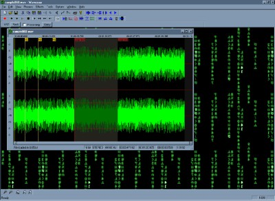 Wavosaur audio editor 1.1.0.0 screenshot