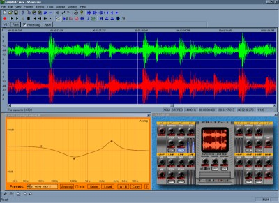 Wavosaur free digital audio editor 1.1.0.0 screenshot
