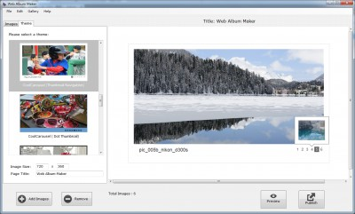 Web Album Maker 3.0.0 screenshot