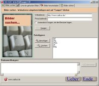Web BildSauger 2.3 screenshot