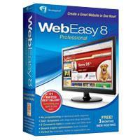 Web Easy Professional 8.0 1.2 screenshot