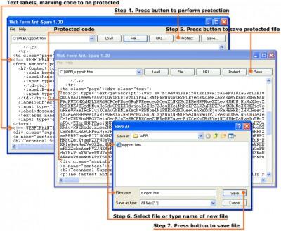 Web Form Anti-Spam 1.00.0.18 screenshot