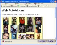Web FotoAlbum 2.0 screenshot