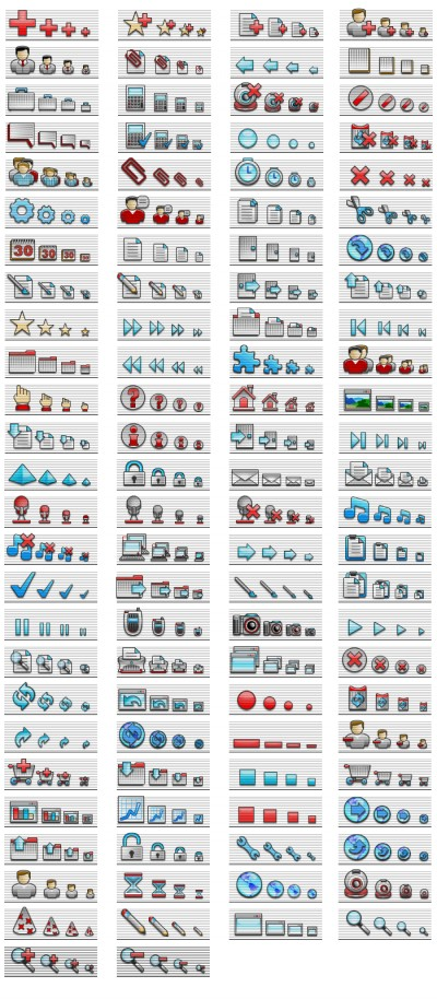 Web Icons - professional icons for web 1.0 screenshot
