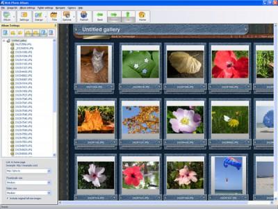 Web Photo Album 1.2 screenshot