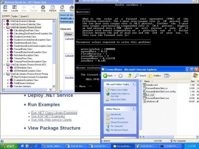 WebCab Bonds for .NET 2 screenshot