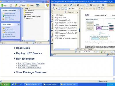 WebCab Functions for .NET 2.0 screenshot