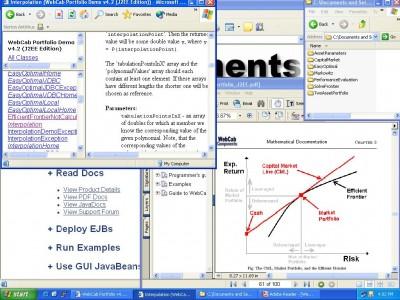 WebCab Portfolio (J2EE Edition) 4.2 screenshot