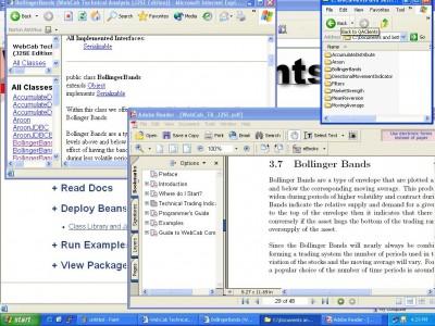 WebCab TA (J2SE Community Edition) 1 screenshot