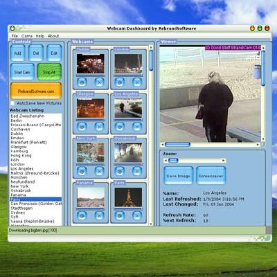 Webcam Dashboard 2.1 screenshot