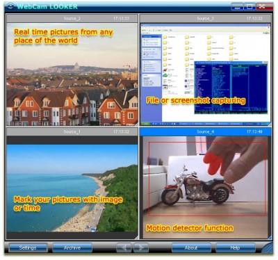 WebCam Looker 7.5 screenshot