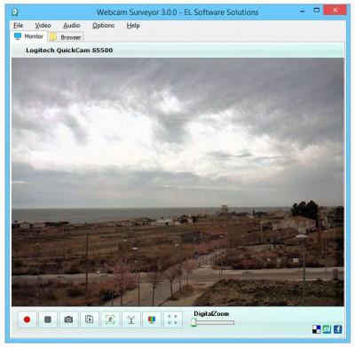 Webcam Surveyor 3.8.1 screenshot