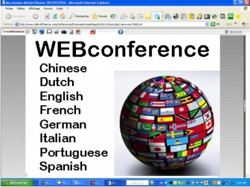 WEBconferenceware in 8 languages 2.3 screenshot
