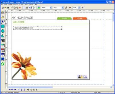WebDwarf Free 2.5 screenshot