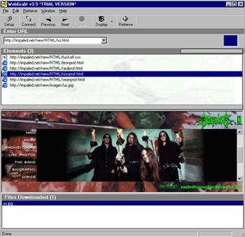 WebGrab! 3.6 screenshot