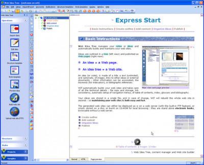 WebIdeaTree 5.71 screenshot