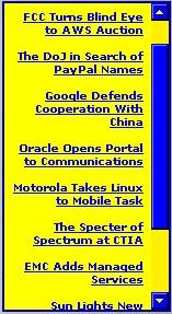 WebLines 1.00 screenshot