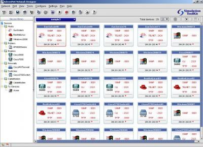 WebNMS Simulation Toolkit 8 screenshot