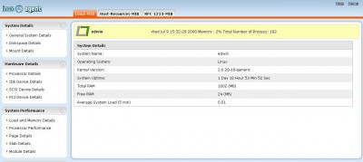 WebNMS SNMP Agent For Linux 2.0.0 screenshot