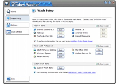 Webroot Window Washer 6.5 screenshot