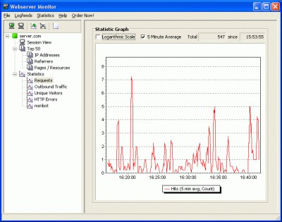 Webserver Monitor 1.2.1.3 screenshot