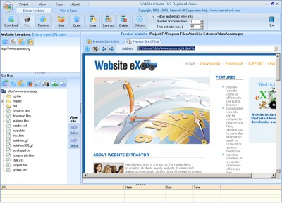 Website Extractor 10.52 screenshot