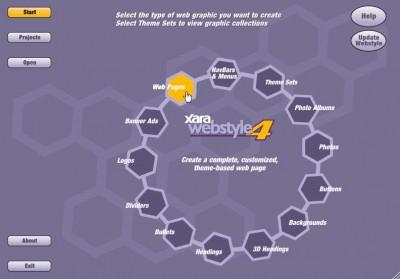 Webstyle 4 screenshot