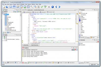 WebTide 4.0 screenshot
