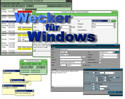 Wecker für Windows 6.5.3 screenshot