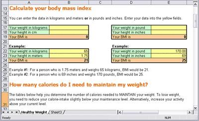 Weight Loss Program 1.0 screenshot