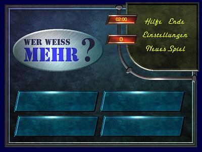 Wer Weiss Mehr 1.4 screenshot