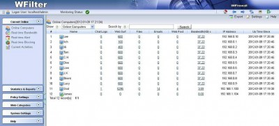 WFilter Enterprise 4.1.260 screenshot