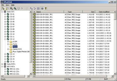 WhatDisk 1.1 screenshot